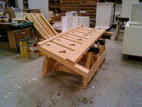 Fabrication palines mélèze