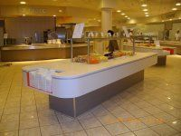 Agencement restaurant cafeteria